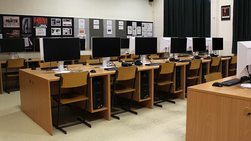 Vybavení školy - učebna
